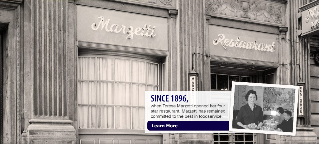 Since 1896 when Teresa Marzetti opened her four-star restaurant, Marzetti® has remained committed to the best in quality. Learn more.